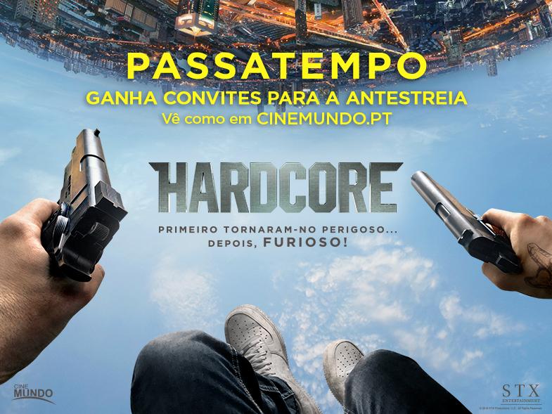 "PASSATEMPO CONVITES DUPLOS ANTESTREIA ""HARDCORE"""