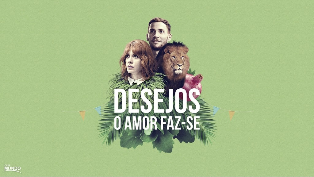 "PASSATEMPO CONVITES DUPLOS ANTESTREIA ""DESEJOS O AMOR FAZ-SE"""