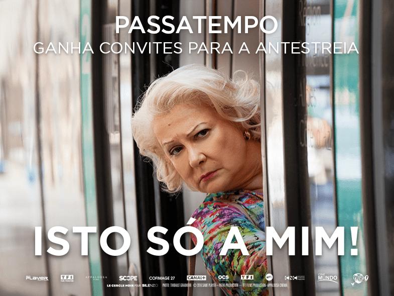 """PASSATEMPO CONVITES DUPLOS ANTESTREIA """"ISTO SÓ A MIM!"""""""