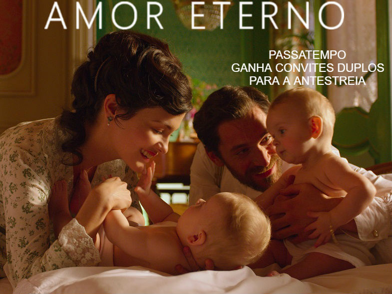 "PASSATEMPO CONVITES DUPLOS ANTESTREIA ""AMOR ETERNO"""