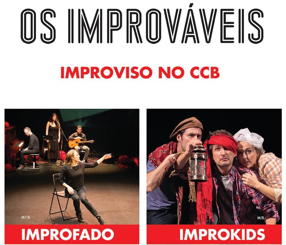 """PASSATEMPO CONVITES DUPLOS PARA """"OS IMPROVÁVEIS"""""""