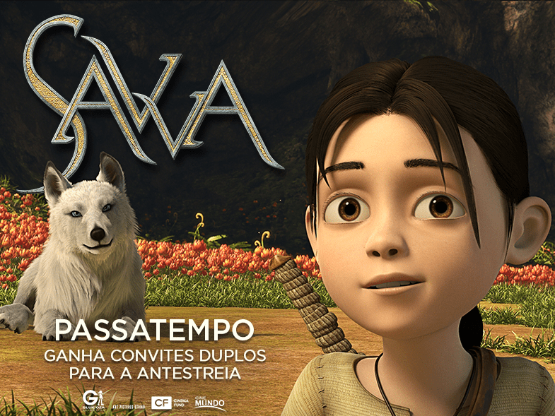 "PASSATEMPO CONVITES DUPLOS ANTESTREIA ""SAVVA"""