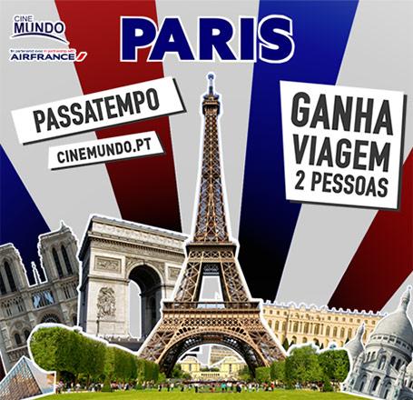 PASSATEMPO VIAGEM A PARIS
