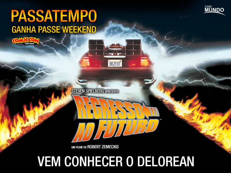 PASSATEMPO PASSE WEEKEND COMIC CON PORTUGAL