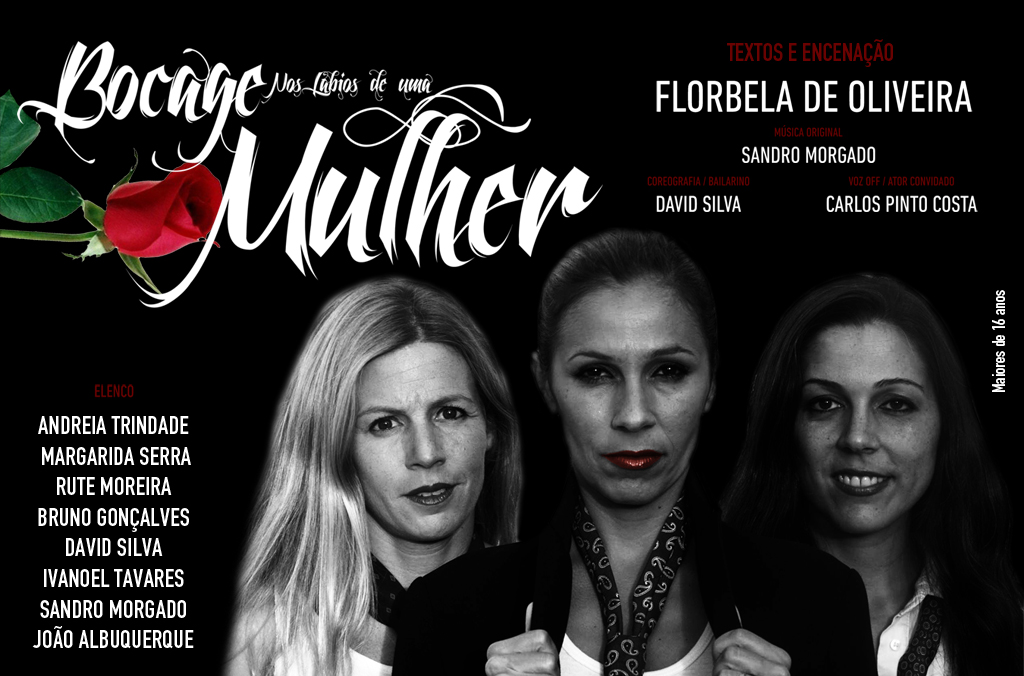 """PASSATEMPO Peça de Teatro """"Bocage nos Lábios de uma Mulher"""""""