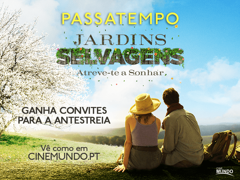 "PASSATEMPO CONVITES DUPLOS ANTESTREIA ""JARDINS SELVAGENS"""